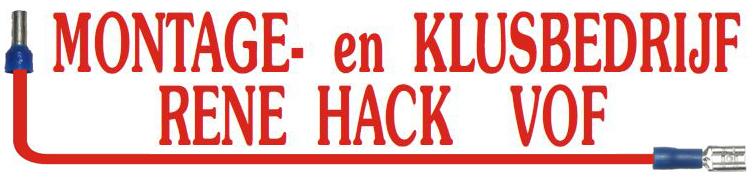 Montage- en Klusbedrijf Rene Hack VOF